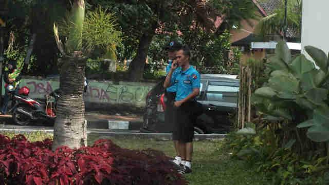 Penjaga Taman Kota Bogor