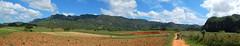 Farmers at work (aleta.weber) Tags: sky panorama landwirtschaft cuba feld hills valley caribbean farmer vinales arbeit bauern