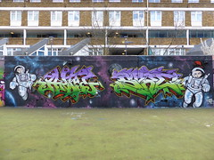 Ante & Sure graffiti, Stockwell (duncan) Tags: graffiti sure ante stockwell
