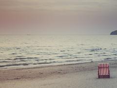 Strandkorb (dbbrg) Tags: blue sea sky nature colors see seaside meer natur rgen binz rottenplaces
