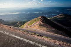 Pikes Peak (ncheng93) Tags: road sky mountain climb hill peak pikes
