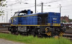 277 404 Emden 12.05.2015 (hansvogel51) Tags: train germany private deutschland eisenbahn evb mwb emden br277 dieselloks v2304 makg1700bb
