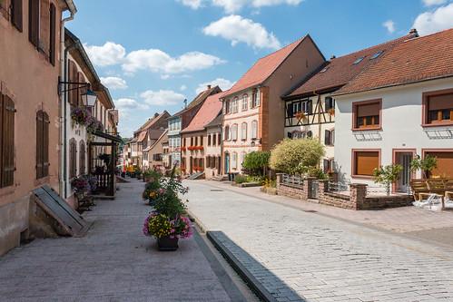 Rue du Château à La Petite-Pierre
