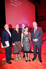 Dr Peter Farrell, Claire Penniceard, Hugh Morgan, Tania de Jong & Mike Smith