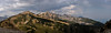 Kicking Horse Panorama (Witty nickname) Tags: panorama mountains clouds landscape golden bc britishcolumbia pano rockymountains hazy 2470mm goldenbc nikkor2470mmf28 nikond800 kickinghorsepanorama