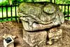 Altar M, Quiruiguá (drlopezfranco) Tags: cat ruins feline maya snake guatemala altar cocodrilo mayan ruinas crocodile felino glyph izabal serpiente quirigua glifo altarm
