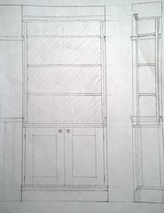 Nokia Lumia 1020 - Dining Room Bookcases - Scale Diagram (TempusVolat) Tags: woodwork diy mr furniture dinningroom bookcase bookcases gareth woodworking carpentry handycraft tempus newyankeeworkshop morodo volat garethw mrmorodo garethwonfor tempusvolat