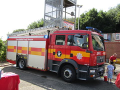 BV57 GPY (markkirk85) Tags: rescue man water station fire day open engine lincolnshire service ladder appliance spalding 2015 tgm gpy bv57 bv57gpy
