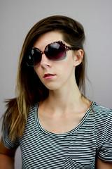 SUNNIES 2 (amanda lovely <3) Tags: life summer portrait sun fall beach me girl sunglasses self canon happy 50mm cool girly joy style shades blessed sunnies hollister hco