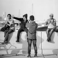 The Boys (Robber34) Tags: schwarzweiss bw leica doha katar film blackandwhite qatar foma fomapan analog analogue