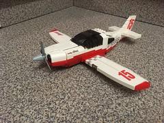 """Lucky Girl"" (tbone_tbl) Tags: lego lancair legacy plane airplane homebuilt aircraft air reno races race sport class pylon foitsop"