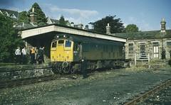 Photo of British Rail diesel loco 25080 Bodmin General