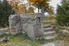 Lakeshore Lodge (gabi-h) Tags: lakeshorelodge lakeontario sandbanks gabih princeedwardcounty foundation ruins autumn trees dilapidated architecture abandoned