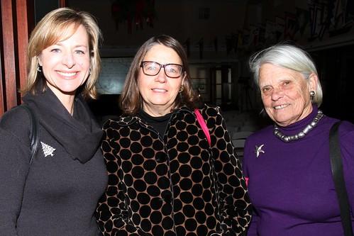 Sarah Barringer, Nancy Everett and Sue Seitz
