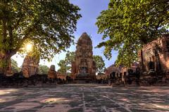 Ayutthaya [TH] (ta92310) Tags: asie asia thaïlande thailand autumn automne 2015 hdr travel canon budda ayutthaya unesco wat temple 6d
