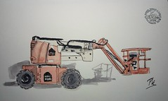 Plataforma (Fotero) Tags: usk dibujo acuarela watercolor cuaderno10 cuaderno maquina urbanskeching urbansketchers urbansketch