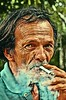 (Marcelo Cunha Art Photographer) Tags: hdr nikon nikond90 brazil brasil old oldman color colors cores cor marcas expressao expressoes expression smoke cigar cigarrete