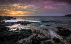 Big island , Hawaii -2 (Rick Vega) Tags: beautifulocean paradise oceanview colors 1116 tokina longexposure rickvega rocks ocean pacific photography landscape nikon d7000 water sunset tropical bigisland hawai