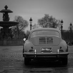 Ancienne Porsche (l'imagerie poétique) Tags: limageriepoétique poeticimagery porsche 17ièmetraverséedeparis placedelaconcorde paris antiquecar classe élégance
