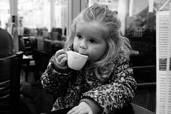 Cafe Culture (stevedexteruk) Tags: cafe coffee drinking 2016 child