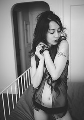 20170116 - 23 - San Francisco - Ermelita.jpg (Kayhadrin) Tags: ermelita usa sanfrancisco lingerie photoshoot glamour bw tattoo asiangirl california filipina unitedstates us