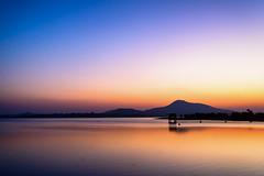 Evening Hue | Baranti (Maulindu Chatterjee) Tags: water purulia baranti sunset color evening dusk bengal bangla