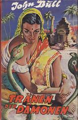 John Bull / Tränen der Dämonen (micky the pixel) Tags: buch book livre leihbuch abenteuerroman indien schlange snake kobra cobra bethkeverlag johnbull tränenderdämonen