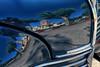 Renault village! (jjcordier) Tags: reflet voiture capot renault bleu village église simandre saôneetloire arbre