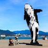 Shooting a pixel art orca (paul.bernier) Tags: vancouver digitalorca