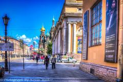 Griboyedov Canal Embankment (Kev Walker ¦ 8 Million Views..Thank You) Tags: stpetersburg russia hdr 2015 kevinwalker