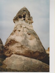 Goreme Cappadocia (redchillihead) Tags: warren smart greece turkey 1989 goreme cappadocia 1980s oe kiwi traveller
