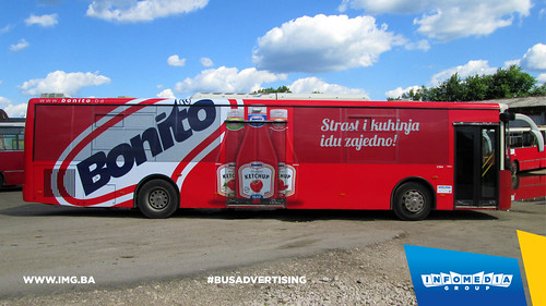 Info Media Group - Bonito, BUS Outdoor Advertising, Banja Luka, Sarajevo 06-2015 (2)