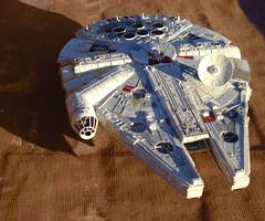 Millennium Falcon Model kit (hachiroku24) Tags: new hope star model millennium solo falcon movies kit wars iv episode han amt ertl