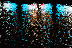 lights reflection [EXPLORED] (leonardShelby00) Tags: light reflection water blu milano acqua wavelet