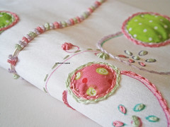 doodled and stitched silk (contemporary embroidery) Tags: white stitch embroidery silk doodle whitesilk doodledcloth