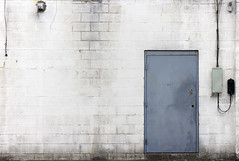 Door Authority (reinfected) Tags: door blue white building brick facade side minimal minimalism minimalistic minimalist mnml mnmlism