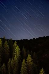 falling (monorail_kz) Tags: sky mountains night star stitch trails kazakhstan almaty startrails