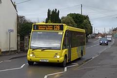 VU02TSY Citistar , Paulton (neiljennings51) Tags: yatton somerset bus optare solo citistar paulton service 128 psv pcv bournemouth yellow buses