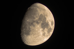 Moon 09.12.2016 (weicco) Tags: sony a7 canon fd300mm hoya moon finland manfrotto sky