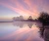 Port Meadow - Square edit (littlenorty) Tags: england europe godstow landscape lock nature oxford oxfordshire portmeadow river sunrise thames type unitedkingdom