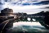 Magic World #1 - Puente de Sant Angelo (Miguel Angel Lillo Fotografía) Tags: roma rome italia italy europa europe travel viajar picoftheday nikon d3200 puente ponte sant´angelo rio river cielo nubes clouds