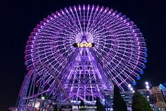 Ferris wheel (Art Fiveone) Tags: minatomirai yokohama japan kanagawa ferris wheel ferriswheel nightshot nightview