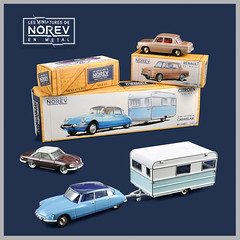 1:43 NOREV Classics CL1511 & CL4511 & CL5112 (norev.official) Tags: 143 norev sample prototype ds caravelair