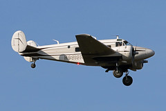 Beech18.N9918R-1 (Airliners) Tags: beech beech18 beechg18s beechexpeditor expeditor propliner iad n9918r 11517