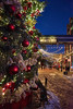 Christmas is coming (8mr) Tags: xmas christmas low light tree ornaments snow distillery district santa snowing snowman