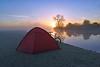 Staika Sunrise (Free.heel) Tags: staika hillebergstaika portmeadow oxford riverthames thames sunrise nikond810 lynskeyridgeline hilleberg
