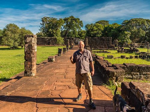 Guarani Jesuit Ruins San Ignacio Mini , Misiones , Argentina  -7a- @WaltitellvUri