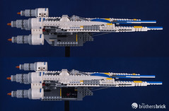 75155 Rebel U-Wing (The Brothers Brick) Tags: 75155 rebel uwing review star wars rogue 1 one 2016 lego
