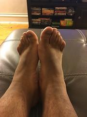 IMG_9822 (_bagent1) Tags: myfeet boyfeet chubbyfeet barefeet bearfeet thickfeet chubbytoes chubby chubbysoles soles slides sandals tops toes