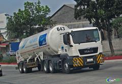 MAN TGS 33.360   Linde Tanker (Next Base™) Tags: czeon santos man tgs 33360   linde tanker truck manufacturer bus ag model chassis 26360 engine suspension axle configuration 6x4 shot location mindanao ave